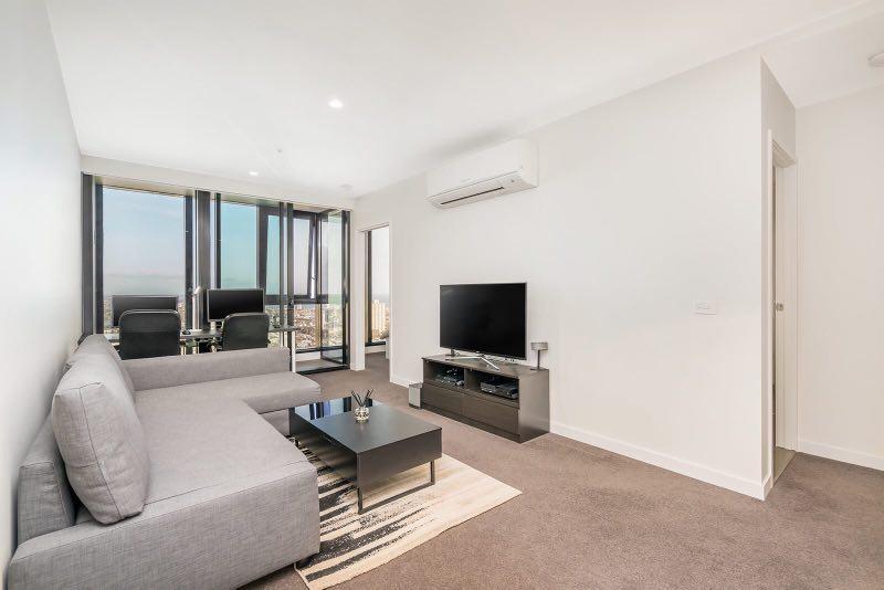 Short stay: Southbank中心地段海景两房公寓4106/45 Clarke Street, Southbank